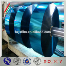 colorful metalized vacuum film for plastic