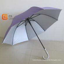 Plain Color Hook Handle Golf Umbrella (YSG017)