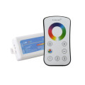 LED touch screen RGB controller with 2.4G RF remote control for rgb led strip/bulb/ceiling