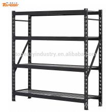 Powder coated medium duty industrial metal wire shelf rack