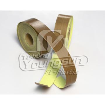 Résistant à la chaleur ruban PTFE jaune pour l'emballage et étanchéité
