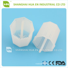 Dental disposable plastic tank filter trap of dental chair