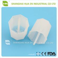 Стоматологическая одноразовая пластиковая емкость для фильтра для тарелок стоматологического кресла