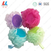 massage+mesh+bath+sponge+body+scrub+with+brush