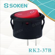 Ovaler Wippschalter Rk2-37b