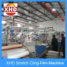 Extrusión de película de estiramiento Línea de producción / espesor: 12 micro a 50 micro