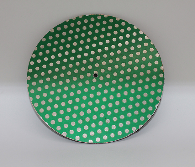 18inch Diamond Lapidary Glass Ceramic Porcelain Magnetic Dot Pattern Grinding Flat Lap