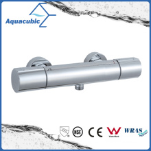 Bathroom Thermostatic Chromed Round Exposed Bar Mixer Shower Valve (AF7260-7)