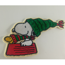 Disney Cartoon Snoopy Haftowana łata Chenille