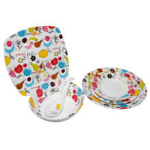 Melamine Fruit Decoration Sets Tableware/100% Melamine Tableware