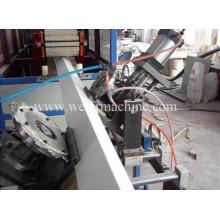 Linha de produção do tapume do vinil do PVC Linha de produção da máquina da extrusão do tapume da placa de revestimento da parede do PVC