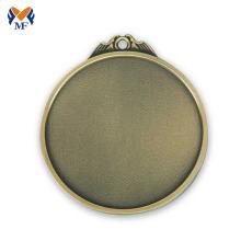 Custom engraving metal blank medal