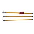 High Voltage Operating Hot Stick,Fiberglass Insulated Material,2-11m