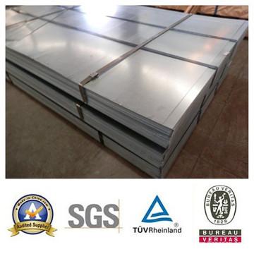 Placa de aço galvanizada SGCC com boa qualidade