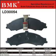 Environment Friendly, Advanced Brake Pads (LD30054)