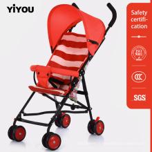Poussette infantile pliable de poussette de luxe pour des systèmes de voyage