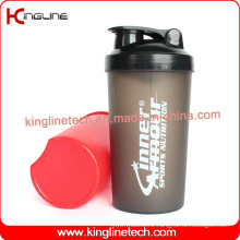 700ml plastic shaker bottle with lid (KL-7034)