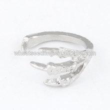 Anillo de apertura de alta calidad anillo águila dedo afilado anillo