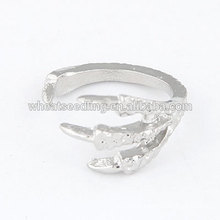 High quality opening ring eagle sharp finger claw ring
