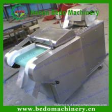Máquina de corte em cubos dura elétrica automática da fruta da máquina de corte vegetal