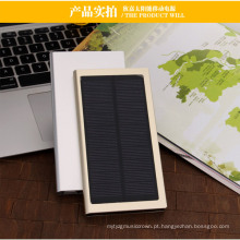 Powerbank solar ultra magro duplo do USB 12000mAh (SC-1688-A)