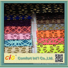 Material de cuero con textura de PU hecho en China