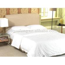 Роскошный 400TC длинноволокнистый хлопок вышивка постельные принадлежности комплект отель постельного белья ткань