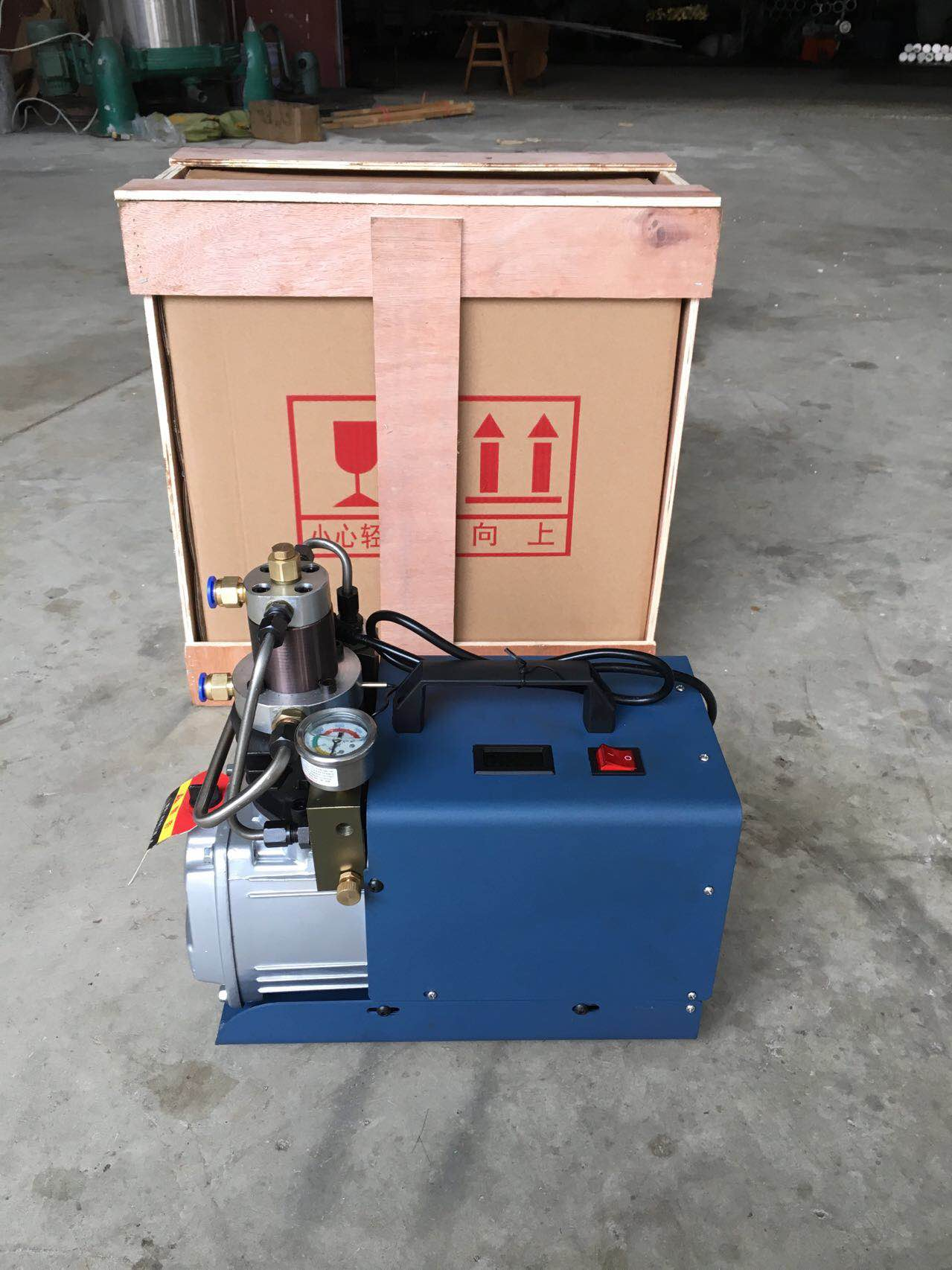 110V Air Pump Electric PCP Air Compressor