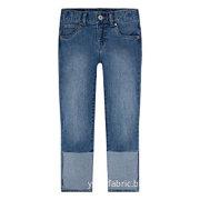 Wholesale Child Clothing Soft Boys' Denim Capri Pants