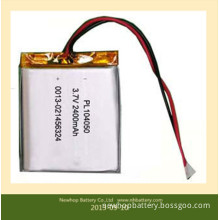 2400mAh Lithium Ion Polymer Battery for Digital Device, Battery Packs, Rechargeable Batteries