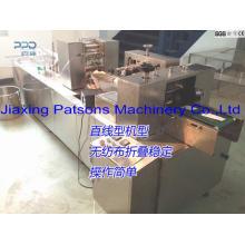 Machine d'emballage automatique de lingettes d'alcool de cachetage latéral 3