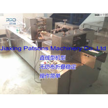 Automatic 3 Side Sealing Alcohol Wipes Packaging Machine