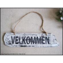 Потертый шик Ферма Античные декоративные деревянные знаки