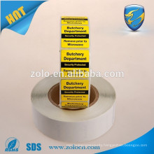 Custom adhesive barcode label , high quality serial number barcode sticker , barcode label supplier in China