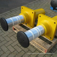 Tampons hydrauliques pour grue avec ressort extérieur
