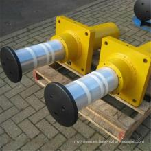 Amortiguadores hidráulicos para grúa con muelle exterior