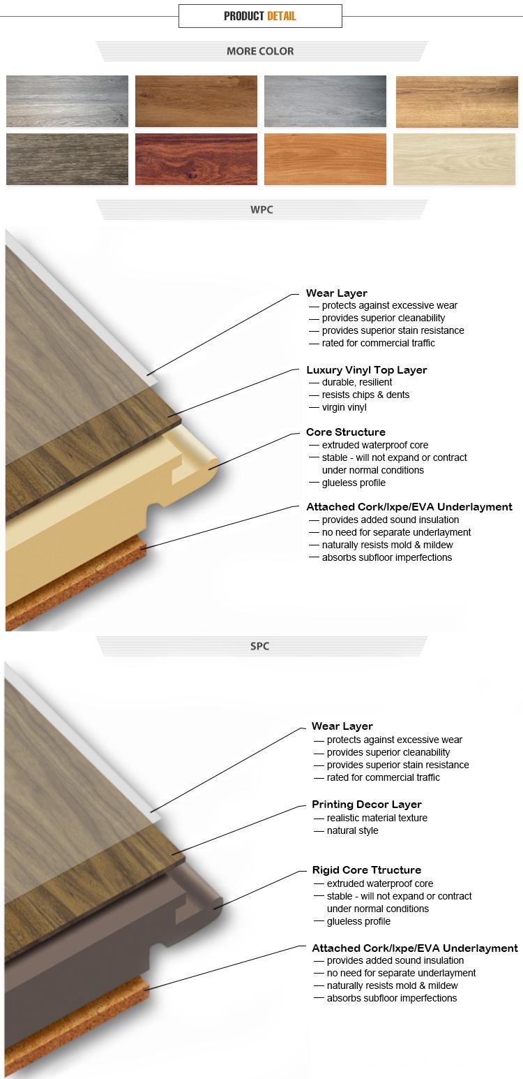 Amazon prime vinyl click wpc flooring