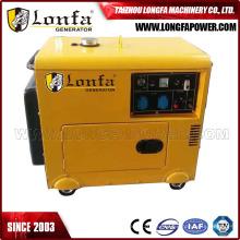Pequeños generadores diesel silenciosos del uso en el hogar 5kw