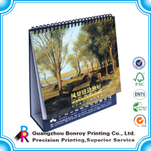 die cut 2013 design desk calendar/calendar to print in english