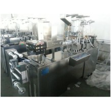 Irregular shape tablet blister packing machine