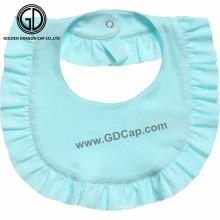 El OEM modificó el babero del bebé de diverso color llano en blanco del modelo