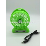 3800 rotates strong wind power Portable Lithium Battery LED Fan
