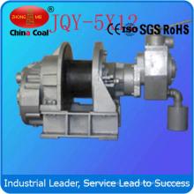 Torno de elevación neumático de alta calidad de 500kg Jqys-5X12 para el campo petrolífero