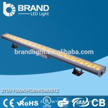 Brillante Decorativo 3000K AC220V LED de lavado de pared de luz, CE RoHS