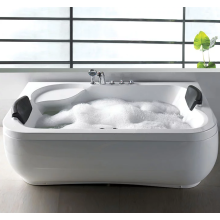 Роскошные белые акриловые угловые отдельно стоящие ванны для купания