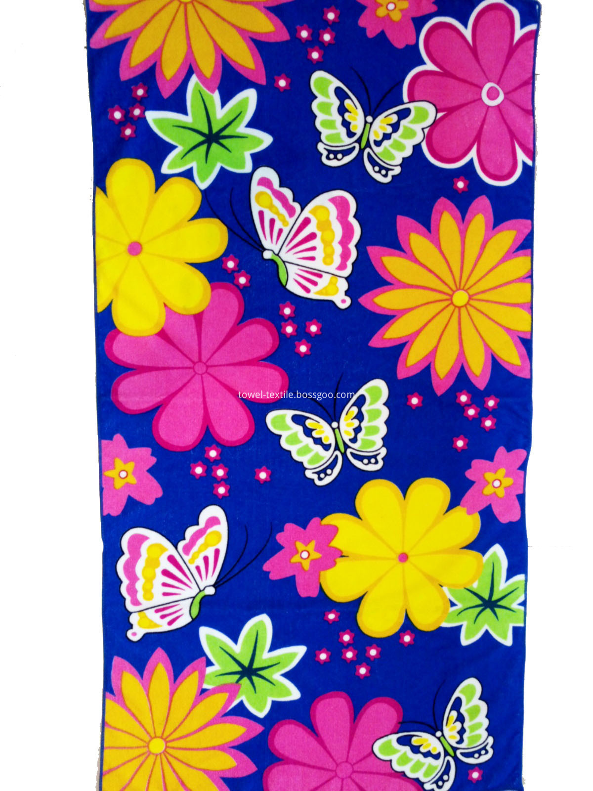 Floral Microfiber Towels