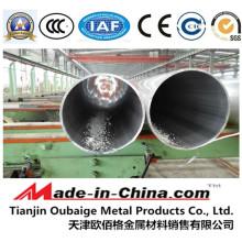 Tubo de aleación de aluminio extruido 6063 T5 para tubería