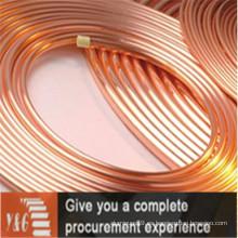 Tubos de cobre C13018 para aplicaciones industriales