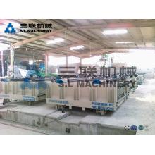 Machine de fabrication de panneaux sandwich en béton léger et léger en béton \ machine de façade en béton préfabriqué en béton