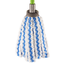 Fornecimento de fábrica Venda Quente do Agregado Familiar Azul Rodada 100% Algodão Piso Chão Mop